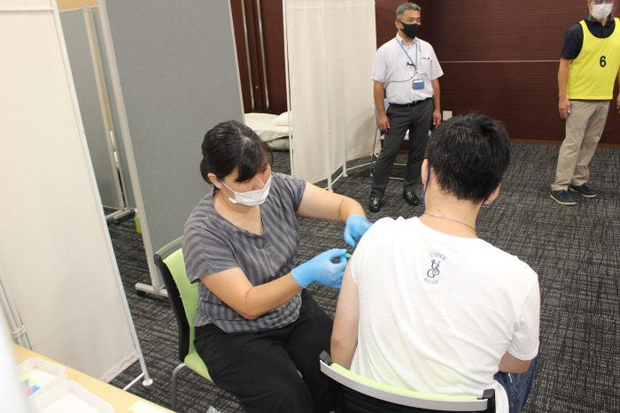 JAグループ京都職域接種スタート